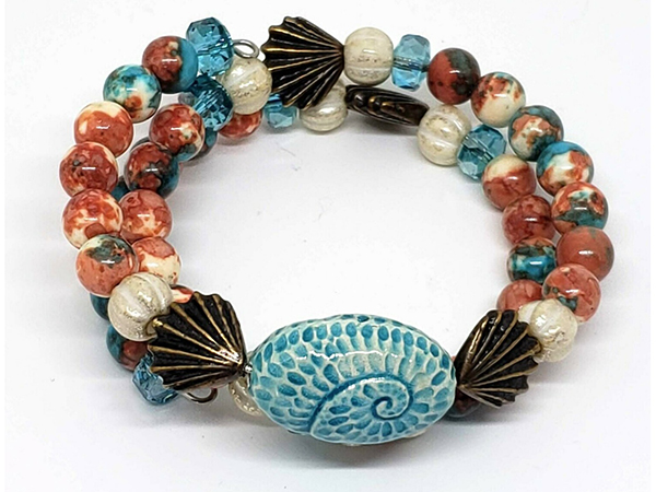 Rain Flower Jade Beach Jewelry